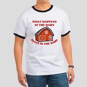 What Happens In The Barn... Ringer T