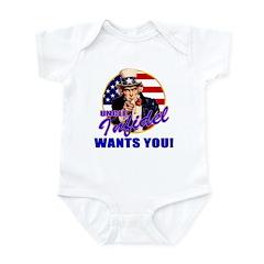 Uncle Infidel Wants You Infant Creeper
