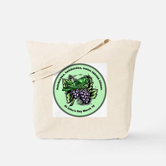 St Urhos Day Tote Bag
