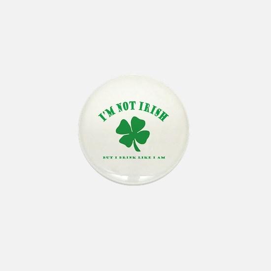 Unique Kiss me irish Mini Button