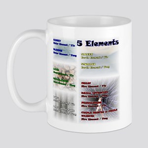 Five Asian Elements Mug