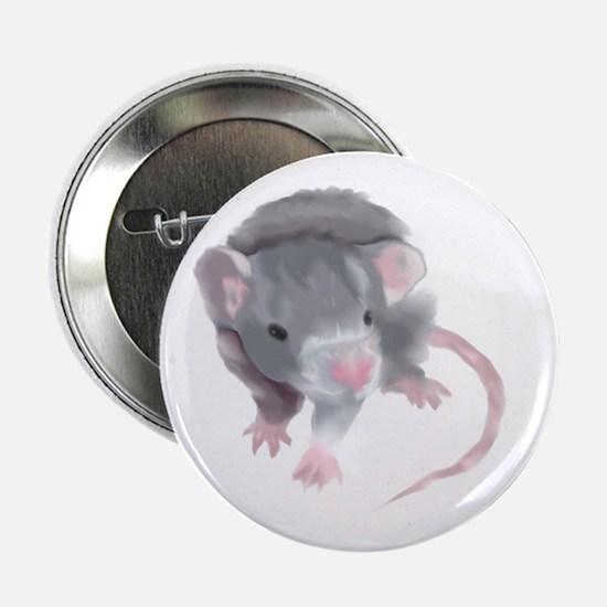 Gray Rat Button