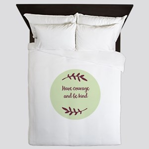 kindness Queen Duvet