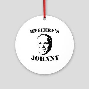 Heeeeere's Johnny Ornament (Round)