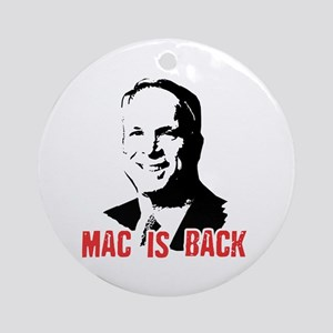 Mac is back Ornament (Round)