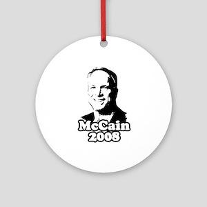 John McCain 2008 Ornament (Round)