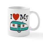 I Love My Trailer Mug