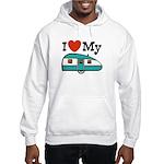 I Love My Trailer Hooded Sweatshirt