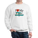 I Love My Trailer Sweatshirt