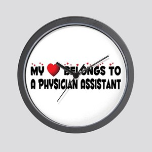 Belongs To A Physician Assistant Wall Clock