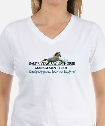 Salt River Wild Horse Management Group Logo T-Shir