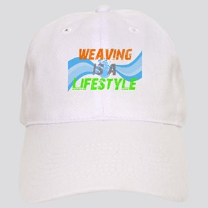 Weaving is a lifestyle Cap