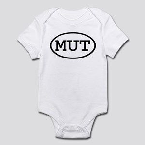 MUT Oval Infant Bodysuit