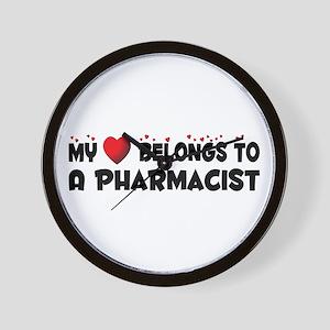 Belongs To A Pharmacist Wall Clock