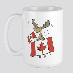 Canada Day Moose Large Mug