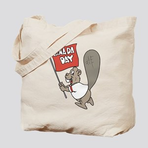 Canada Day Beaver Tote Bag