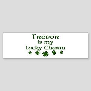 Trevor - lucky charm Bumper Sticker