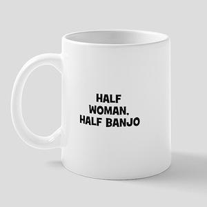 half woman, half Banjo Mug