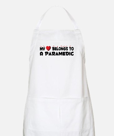 Belongs To A Paramedic BBQ Apron