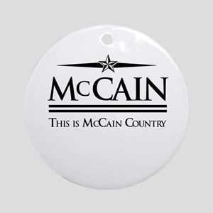 This Is McCain Country Ornament (Round)