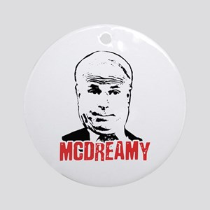 McCain is McDreamy Ornament (Round)