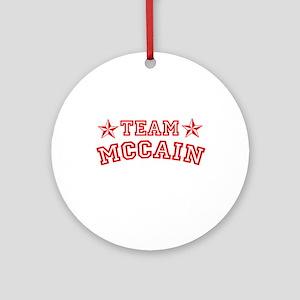 Team McCain Ornament (Round)