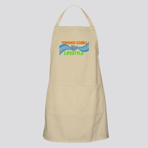 Tournament scrabble is a life BBQ Apron