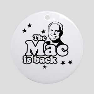 The mac is back Ornament (Round)