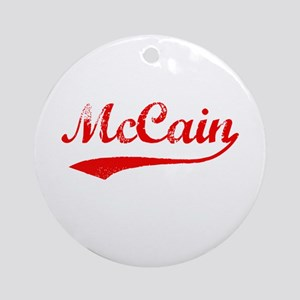 John McCain Ornament (Round)