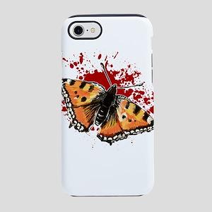 butterfly splatter iPhone 8/7 Tough Case