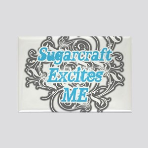 Sugarcraft Excites Me Rectangle Magnet