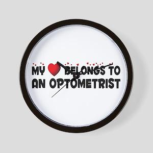 Belongs To An Optometrist Wall Clock