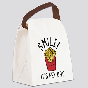 Smile! It's Fry-Day Canvas Lunch Bag