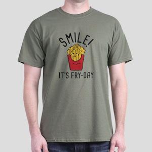 Smile! It's Fry-Day Dark T-Shirt