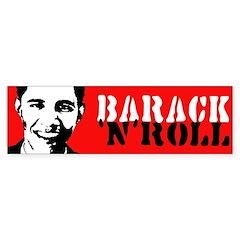 Barack n Roll Bumper Bumper Bumper Sticker