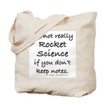 Not really rocket science Tote Bag