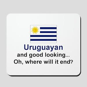 Gd Lkg Uruguayan Mousepad