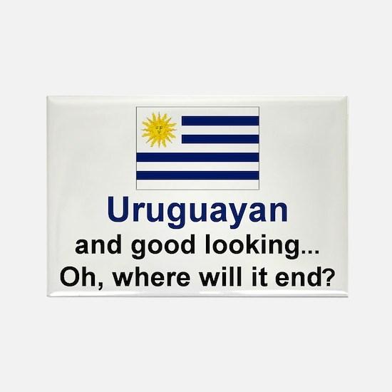 Gd Lkg Uruguayan Rectangle Magnet