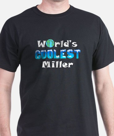 World's Coolest Miller (A) T-Shirt