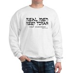 Real Men Keep Torah Sweatshirt