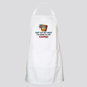 Out of my way! BBQ Apron