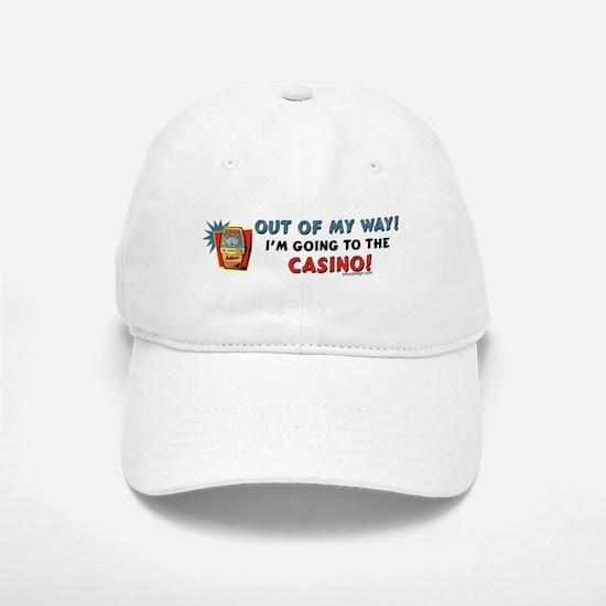Out of my way! Baseball Baseball Cap