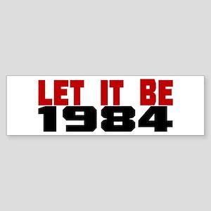 LET IT BE 1984 Sticker (Bumper)