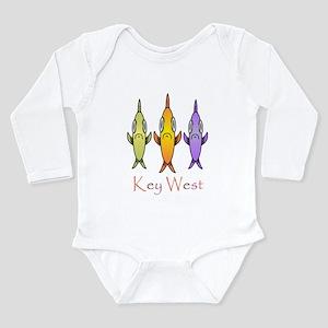 Key West 3 Fishes Infant Bodysuit Body Suit