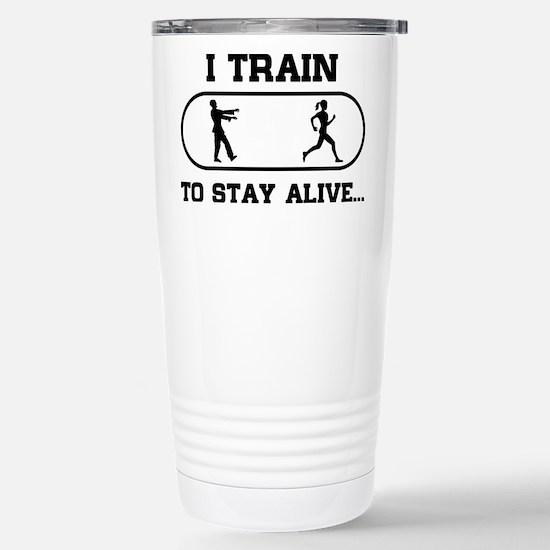 i train to stay alive Mugs