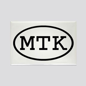 MTK Oval Rectangle Magnet