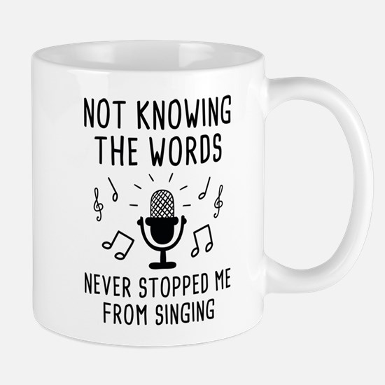Not Knowing The Words Mug