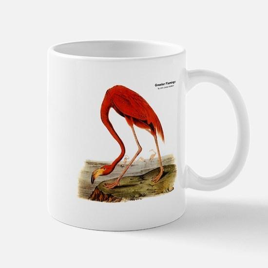 Audubon Flamingo Bird Mug
