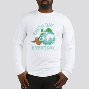 Earth Day Everyday Green Plane Long Sleeve T-Shirt