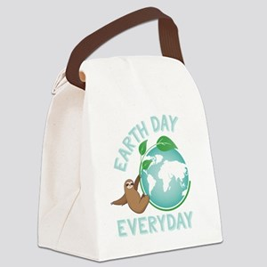 Earth Day Everyday Green Planet S Canvas Lunch Bag